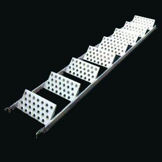 クサビ足場ヘイワビルダー鋼製階段8段